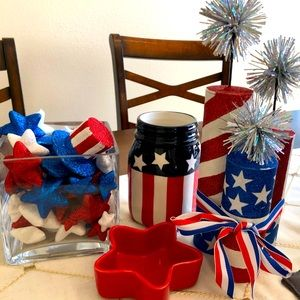 Fourth of July Home Decor Bundle - 6 Items!